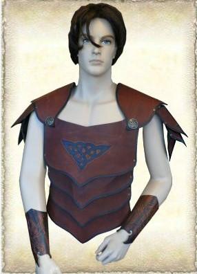 Lederen armour