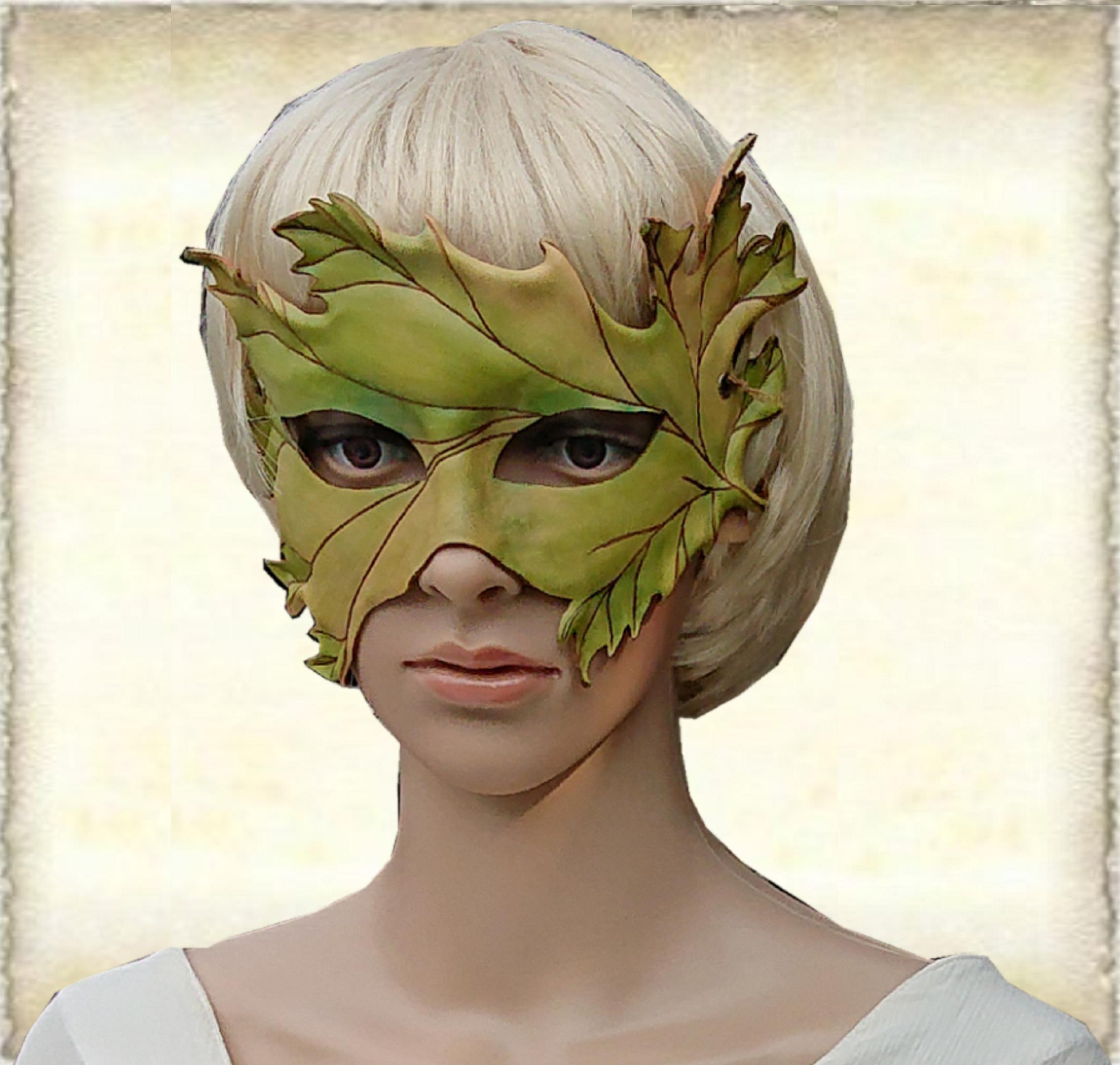 Lederen maskers